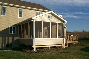 Screened Porch Remodel Pictures - Dutchess County, NY