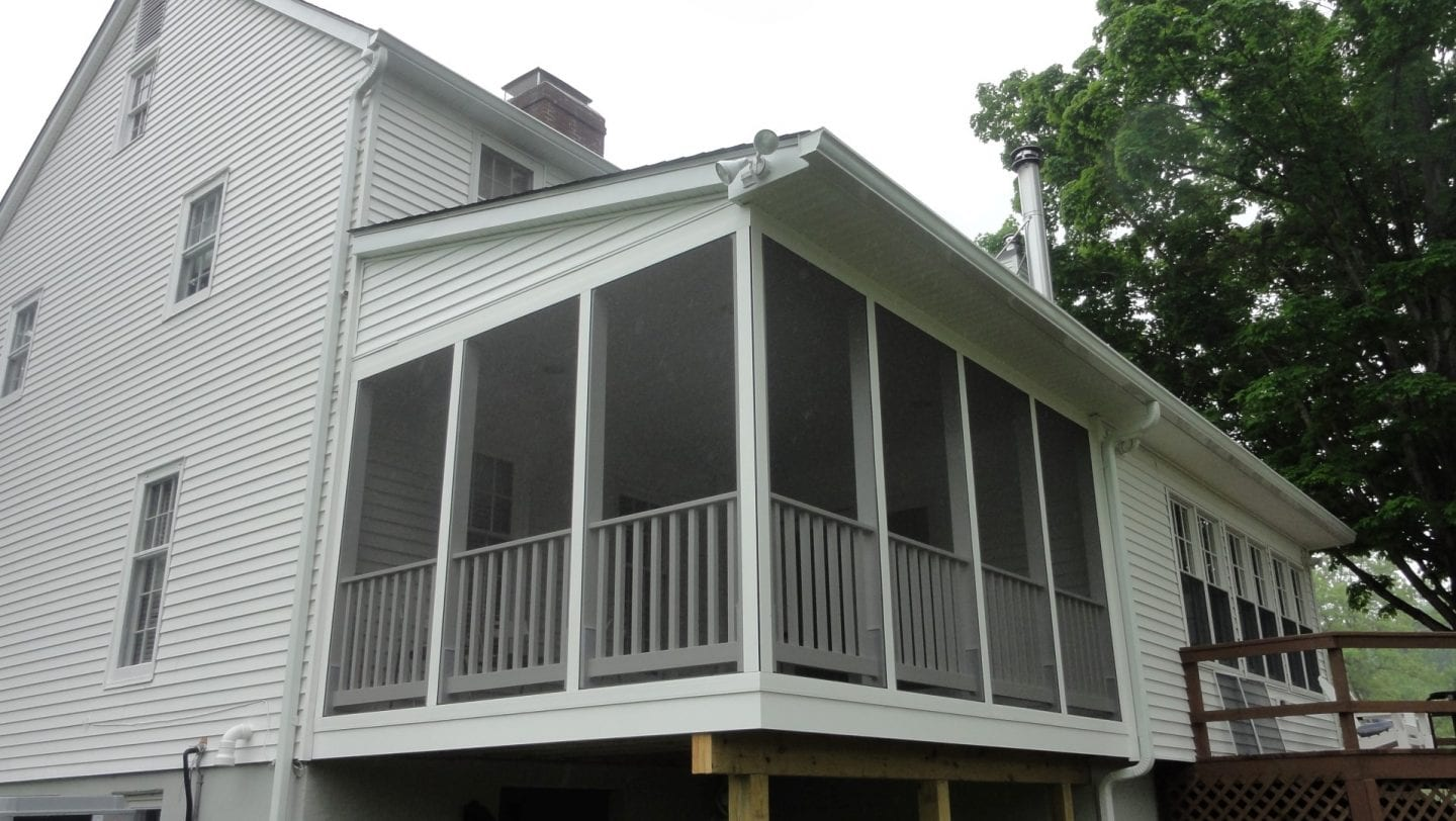 Screen Porch Installer in Dutchess County, NY - DBS Remodel