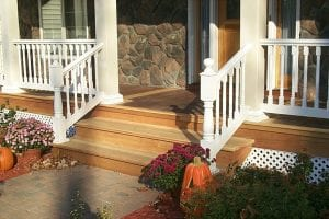 Porch Remodel Pictures - Dutchess County, NY