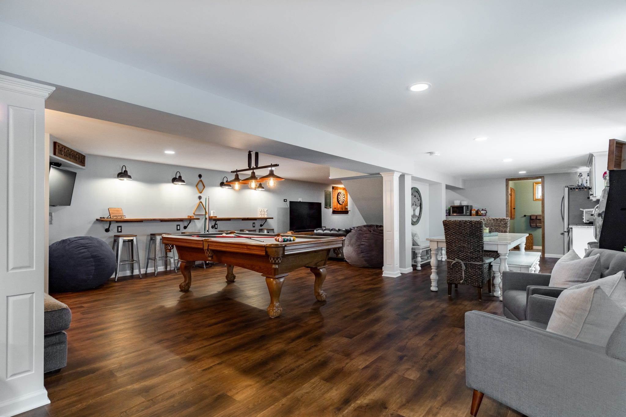 Renovated basement detach with kitchen and bathroom