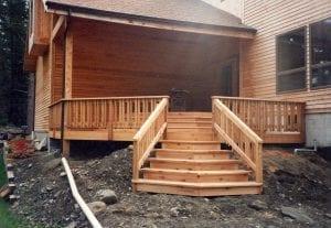 Pressure Treated Wood deck designs DBS Remodel