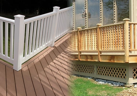 Composite vs Pressure Treated Wood Decks - Dutchess County, NY
