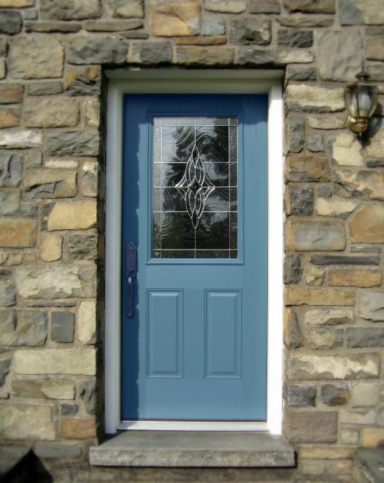 Home Improvement: Blue Door, Cottage-Style Home