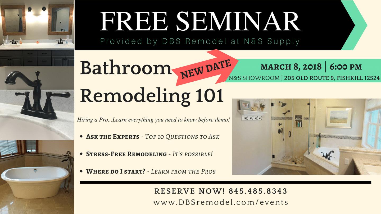 Bathroom Remodeling 101
