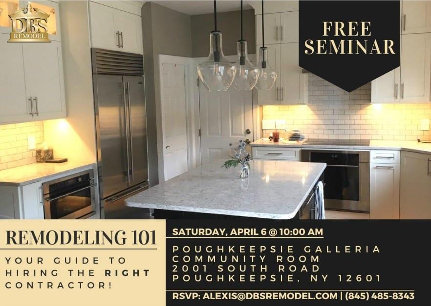 Free Seminar: Remodeling 101
