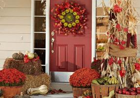 home improvement - door decor