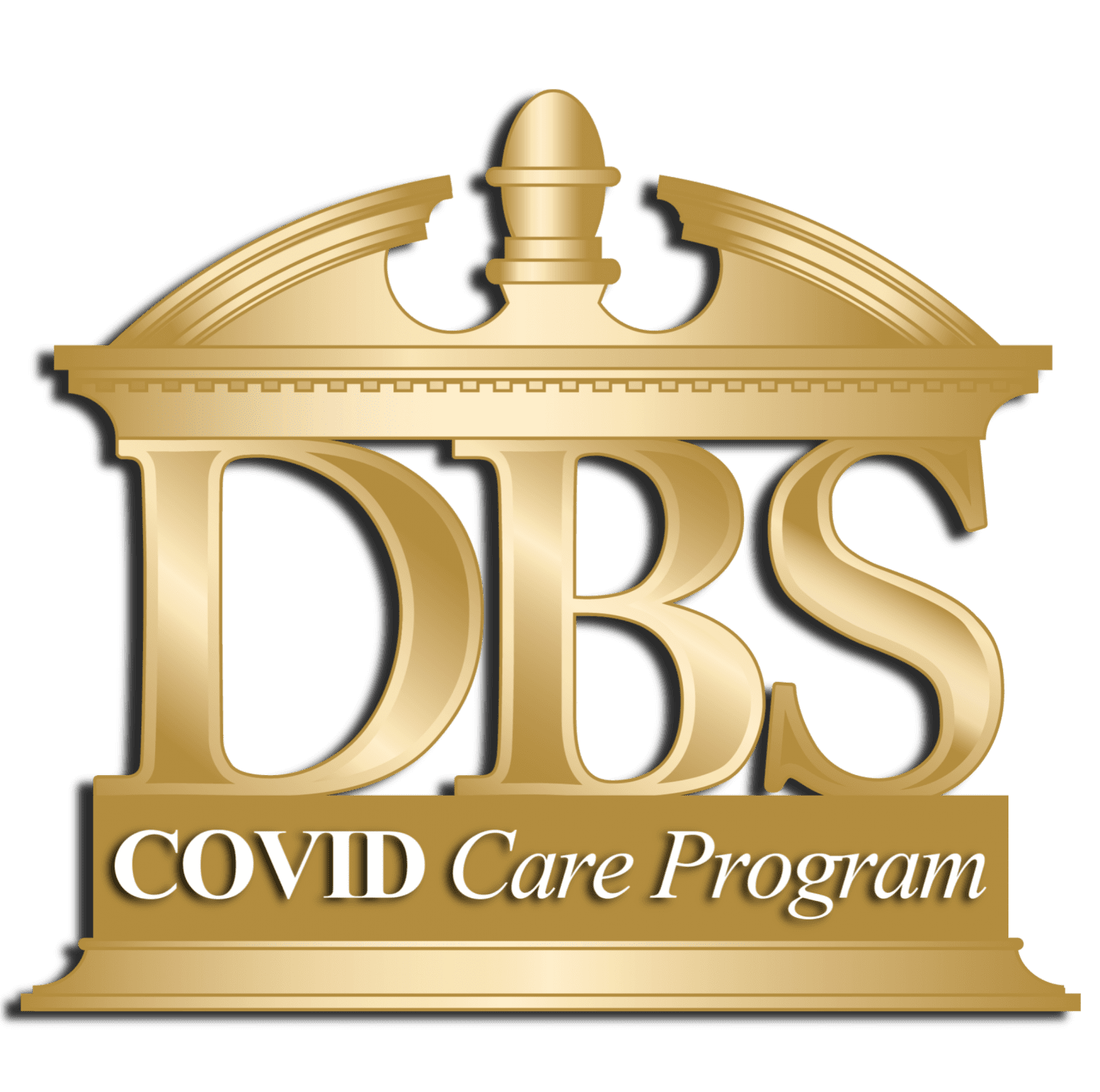 DBS GOLD LOGO - COVID CARE PROGRAM